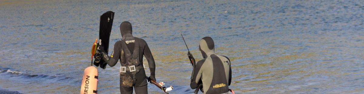 Pratique de la chasse sous-marine