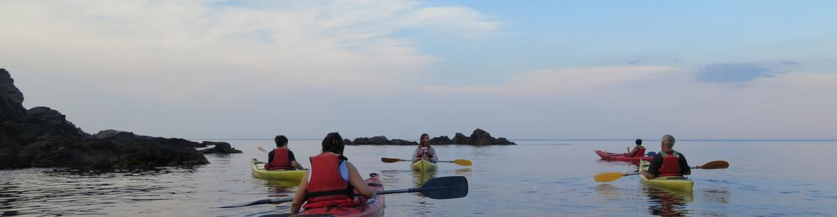 Kayak, un sport de nature