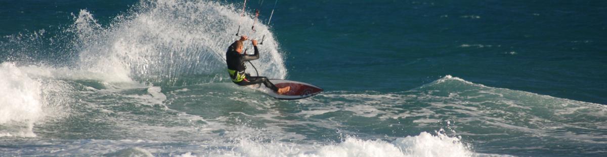 Le kitesurf, un sport de glisse