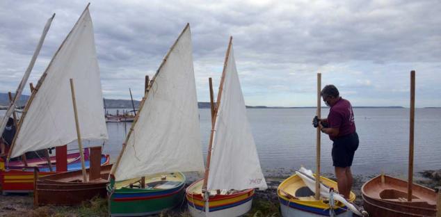 Voile Latine De La Fabrication A La Navigation Parc Naturel Marin